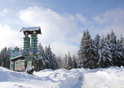 Ferienregion Oberhof, Winter am Grenzalder