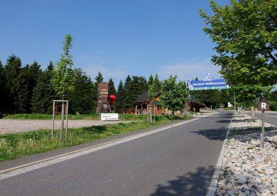 Grenzadler Oberhof im Sommer