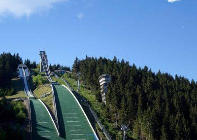 Urlaub Ferienregion Oberhof, Skischanze