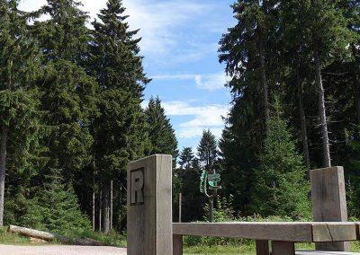Urlaub Ferienregion Oberhof, Rennsteig Wandern