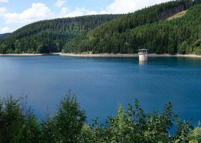Urlaub Ferienregion Oberhof, Ohra Talsperre