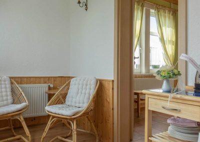 Pension Villa Immergrün Oberhof, Zimmerbeispiel