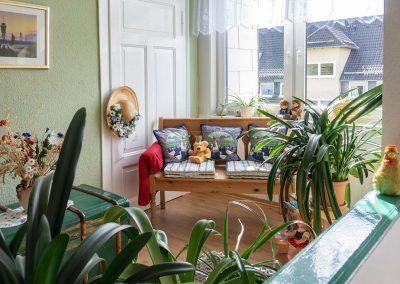 Pension Villa Immergrün Oberhof, Blick in die Pension - öffentlicher Bereich