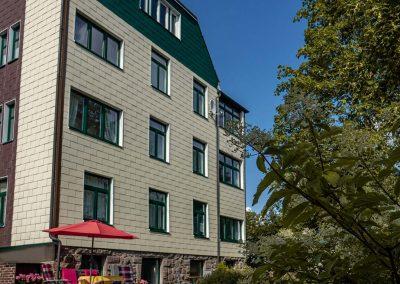 Pension Villa Immergrün Oberhof, Garten Ansicht Haus
